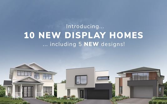 Introducing 10 New Display Homes