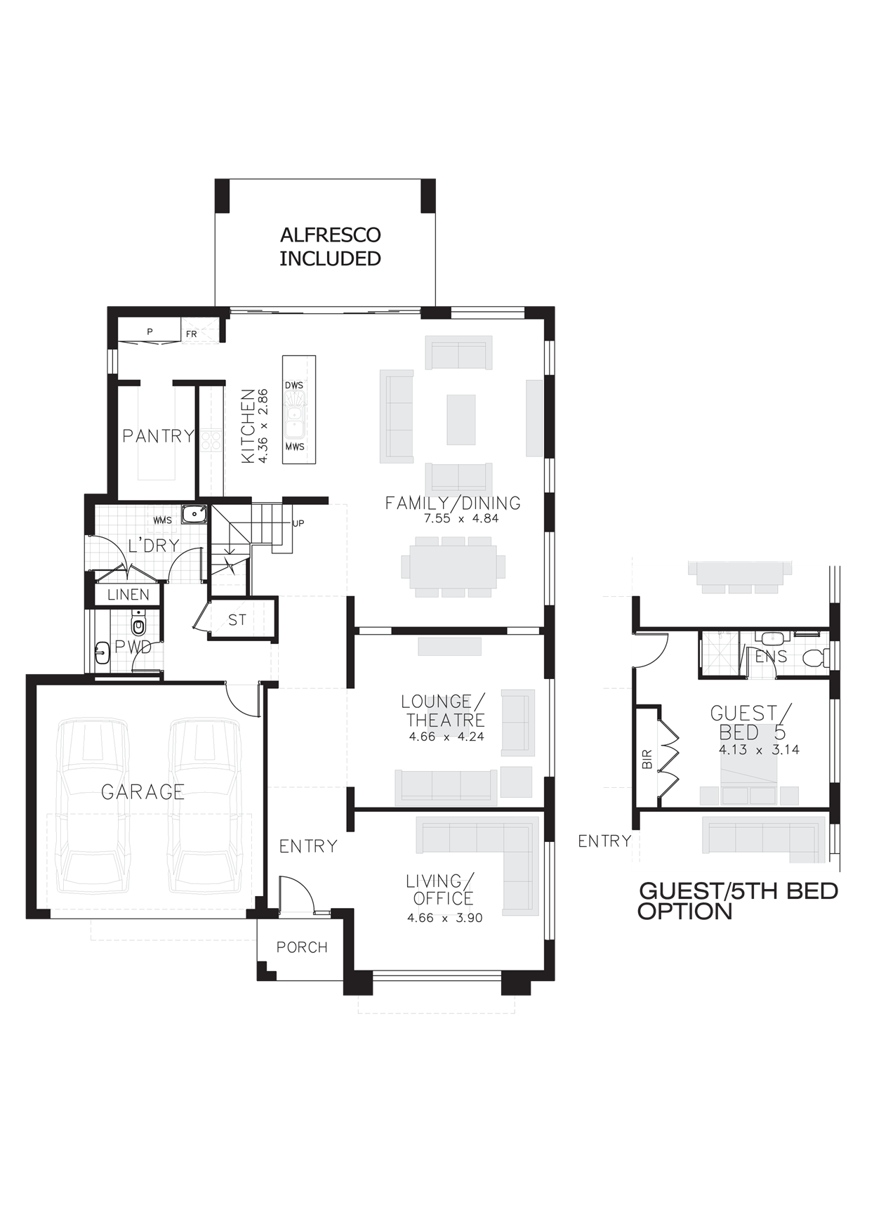 Chifley 40 groundFloor plus 5th Bed