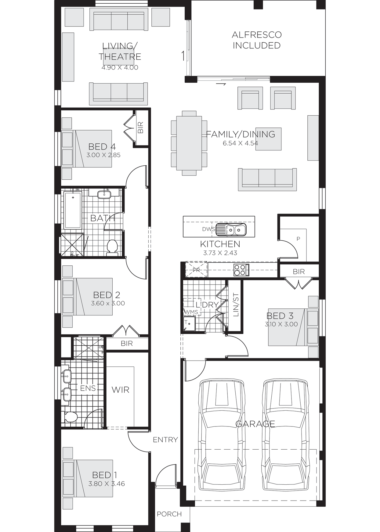 Fairview MKIII GroundFloor