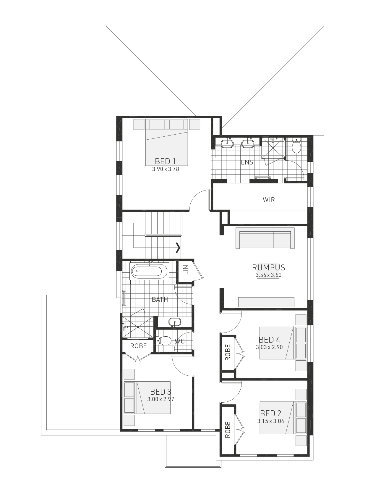 Huntley 30 Floorplan