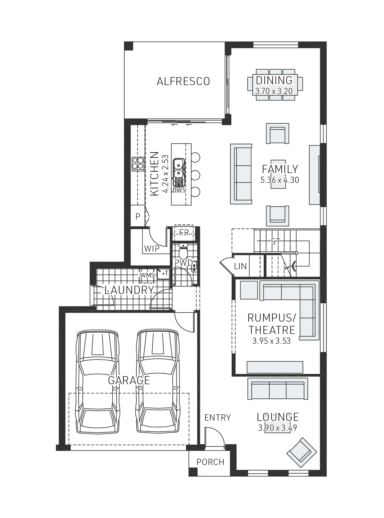 Huntley 32 Floorplan