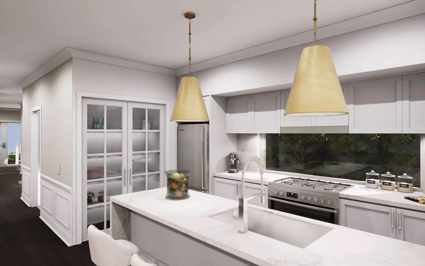 Bronte Duplex Design Kitchen