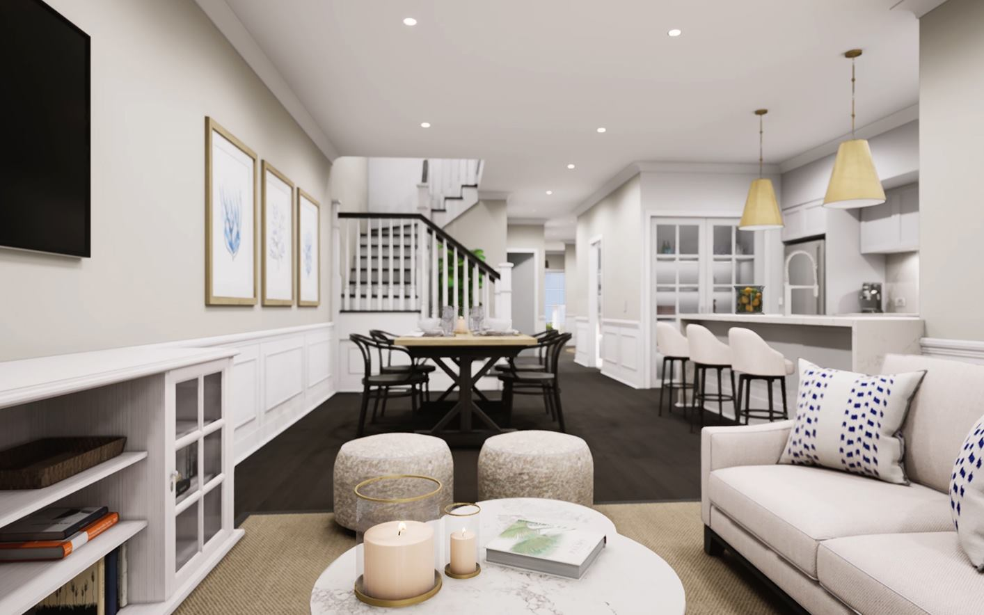 Bronte Duplex Design Lounge and Dining