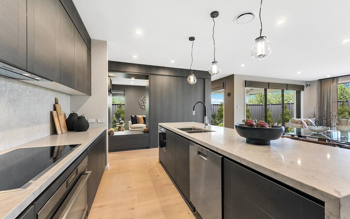 Corrima House Design Stylish Kitchen