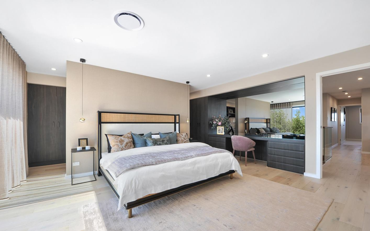 Corrima House Design Master Bedroom