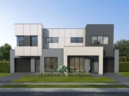 Medina Duplex Home Design with Elite Facade
