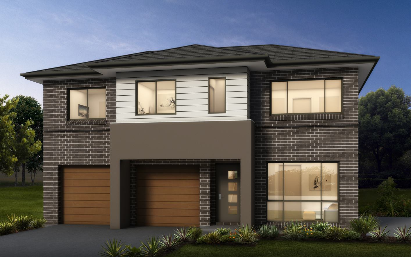 Medway Home Design with Classic Facade