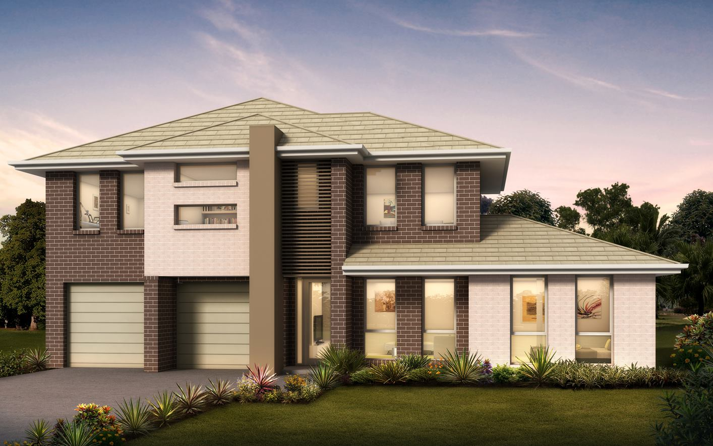 Medway Home Design with Trend Facade
