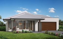 Metford Split Level Home Design with Aspire Facade