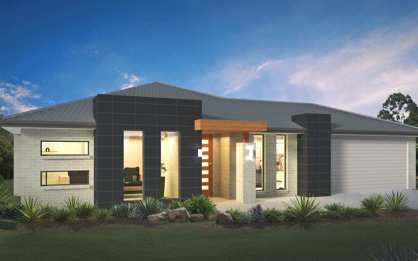 Metford 33 Home Design with Vogue Facade