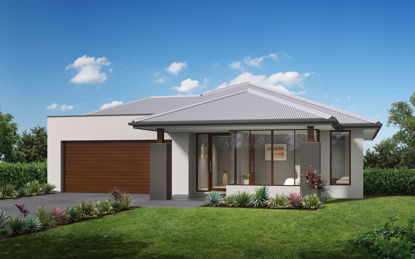 Metford Home Design with Aspire Facade