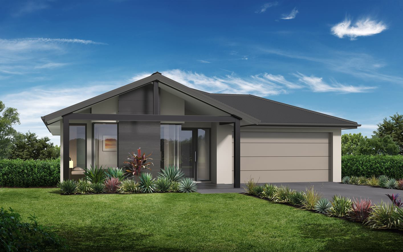 Metford Home Design with Coastal Facade
