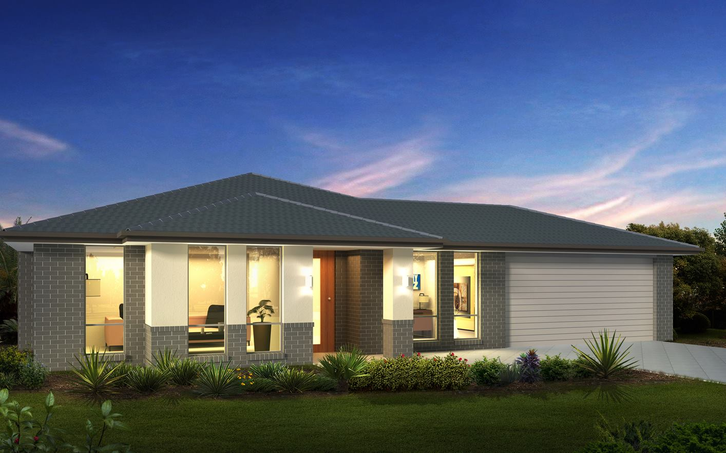 Metford Home Design with Classic facade