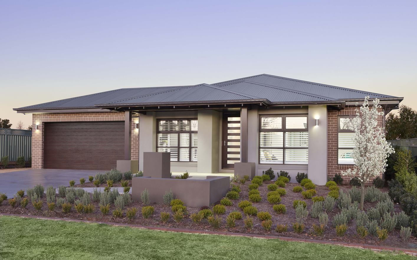 Metford Home Design with Majestic Facade
