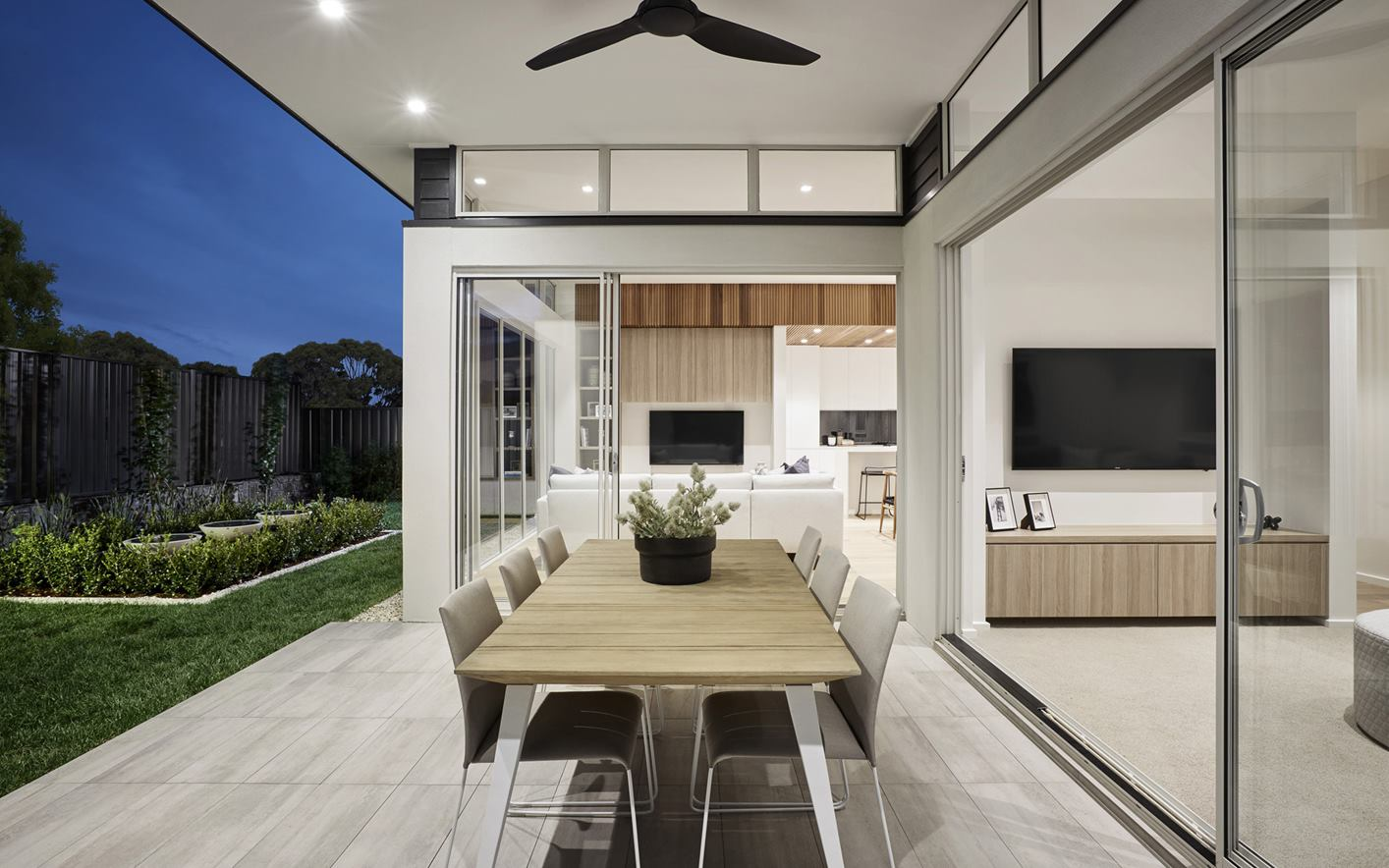 Metford Home Design Alfresco Area
