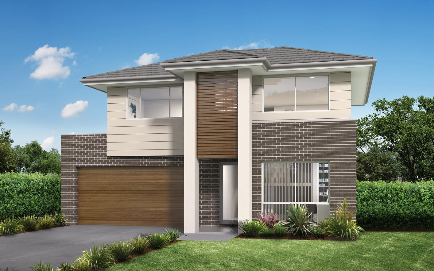 Novera Home Design with Trend Facade
