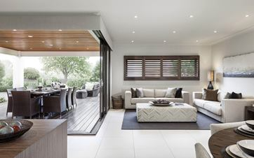 Seaview House Design Alfresco and Lounge
