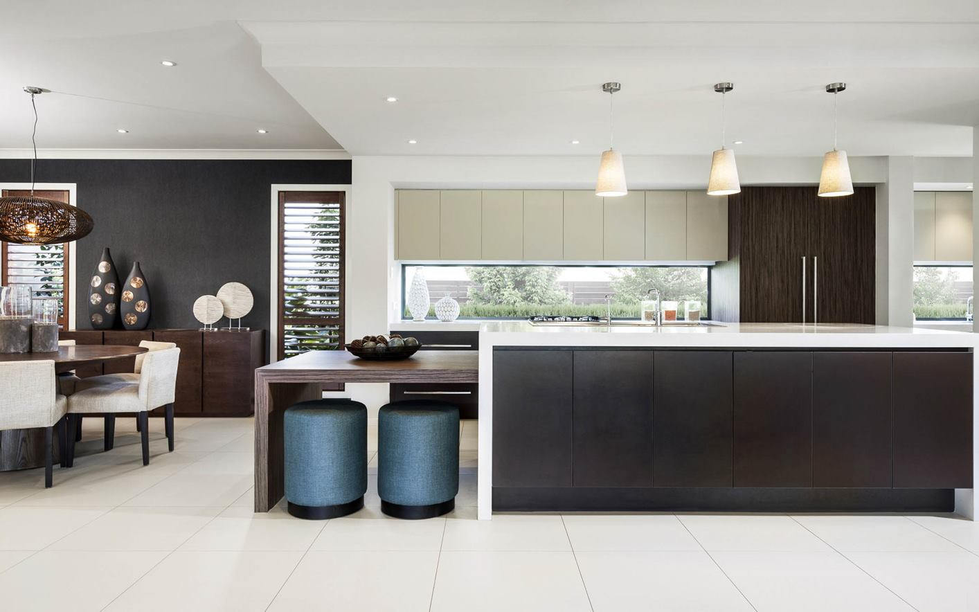 Seaview House Design Kitchen and Dining