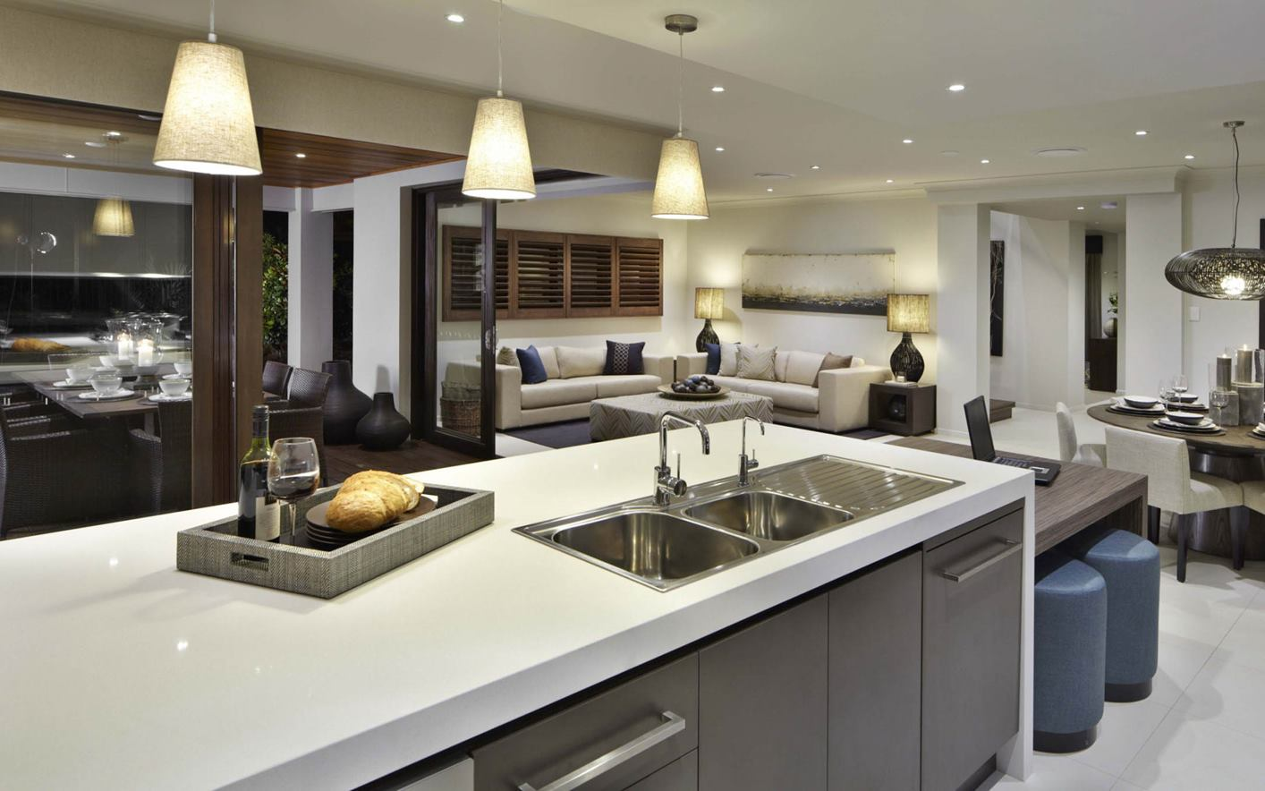 Seaview House Design Kitchen