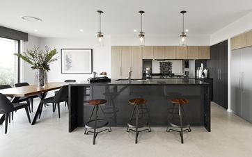 Serene Home Design Kitchen and Dining