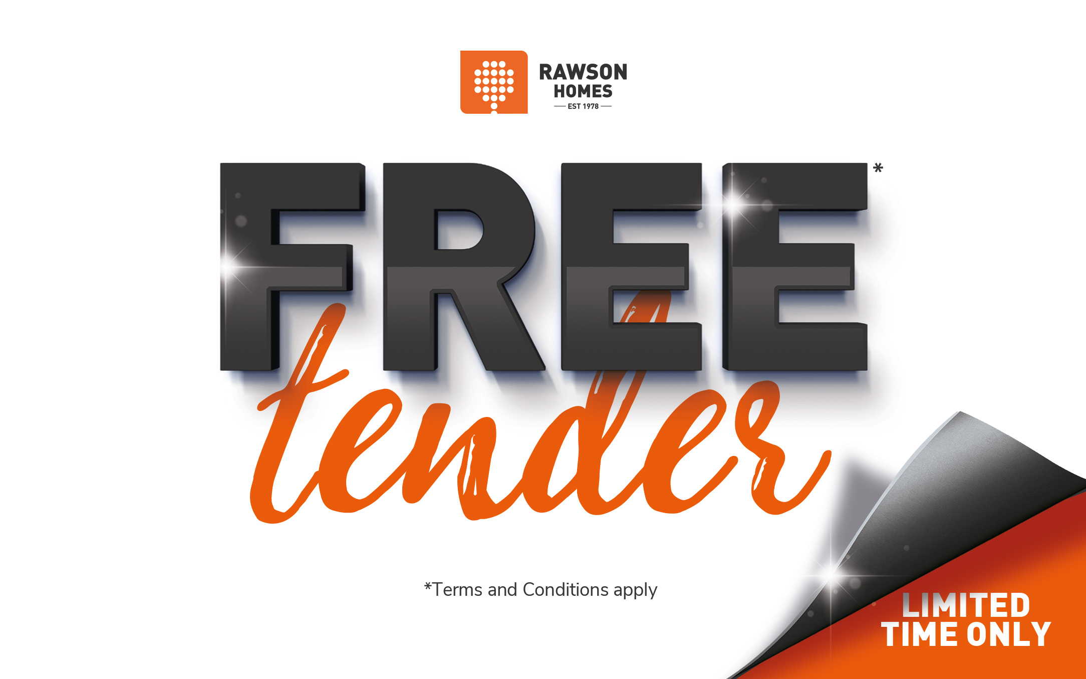 Rawson Homes free tender promotion